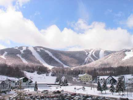 Killington Resort in the winter