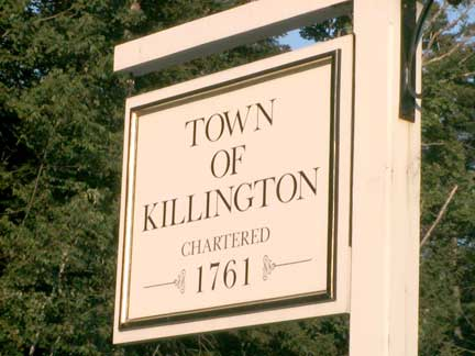Town of Killington, Chartered in 1761